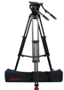 OZ-100CF1HD : OZEN 20CF1HD 100mm Carbon Fiber Tripod & Agile 20 Fluid Head System (E-Z-Load)