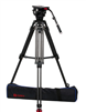 OZ-100CF2HD  : OZEN 20CF2HD 100mm Carbon Fiber Tripod & Agile 20 Fluid Head System (E-Z-Load)