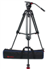 OZ-75AL2HD : OZEN 75AL2HD 75mm Aluminum Tripod & Agile 6 Fluid Head System (E-Z-Load)