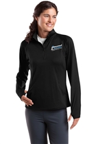 Cottonwood Heights Ladies 1/4 Zip Athletic Fleece