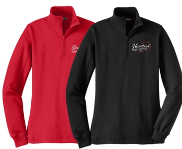 Heartland FSC Ladies 1/4 Zip Sweatshirt