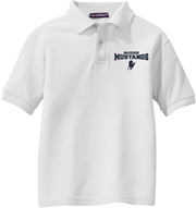 Madison Embroidered White Polo