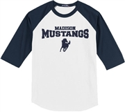 Madison Baseball Jersey Tee Design A