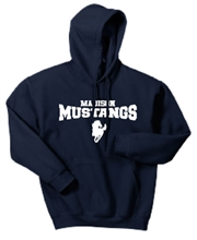 Madison Navy Hoodie Design A