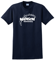 Madison Navy Tee Design C