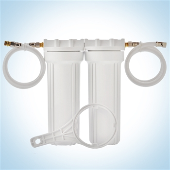 Clearbrook Well Water Sink Filter - Duplex Cartridge System
