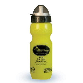 water filter bottle by Clearbrook Filters