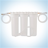 Clearbrook Well Water Sink Filter - Triplex Cartridge System