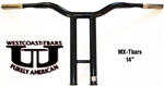 16 inch MX-TBARS POWDERCOAT BLACK