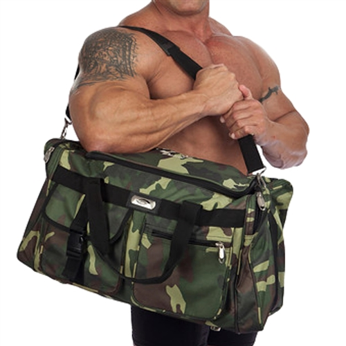 Camo Gym Duffle Bag