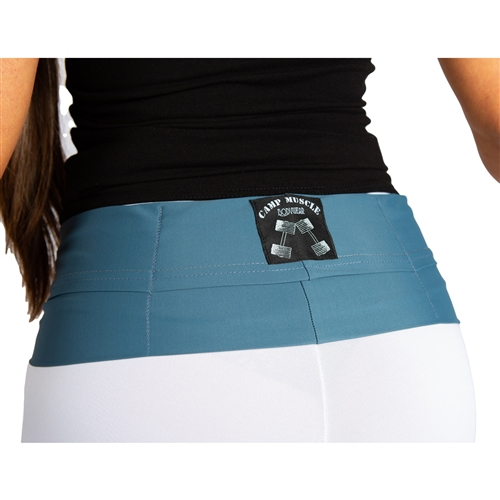 Gym Buddy Pocket Belt - Steel Gray - S/M