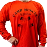Bodybuilding T-Shirt - Long Sleeve | Camp Muscle Bodywear