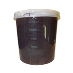 CHOCOLATE BURSTING BOBA, Net Wt. 7.04lbs  JAR