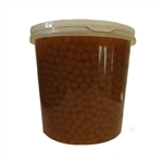 BOBA LOCA® ORANGE  BURSTING BOBA, Net Wt. 7.04lbs (3.2kg) JAR