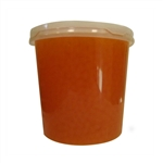 PASSION FRUIT BURSTING BOBA, Net Wt. 7.04lbs  JAR