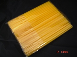 SMALL STRAWS, 7.5 inch long, 1BAG