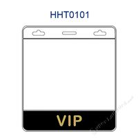 HHT0101 VIP title badge holder is a single pocket of horizontal badge holder.