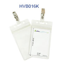HVB016K Sealable Badge Holder