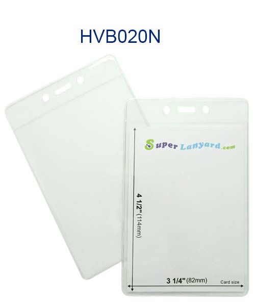 Vertical badge holder hvb020n 3 x 4 name badge holders for 4 x 3 name badge template