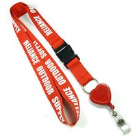 LHP08R2N personalized ID badge reel lanyards