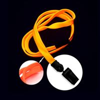 LNB322BNOG Neon Orange Neon Orange Blacklight Lanyard