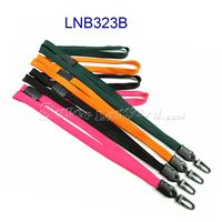 Hook Lanyards with safety breakaway and plastic hook-LNB323B