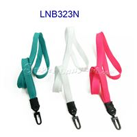 Lanyards with plastic j hook-LNB323N