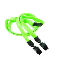 LNB324BLMG Lime Green Breakaway Lanyards