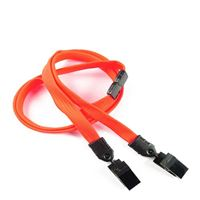 LNB324BNOG Neon Orange Breakaway Lanyards