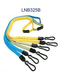 Breakaway Lanyards with double hook-LNB325B