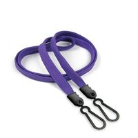LNB325NPRP Purple Lanyards