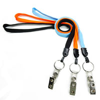 Lanyards with key ring and ID strap clip-LNB327N