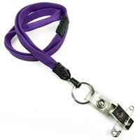 LNB32BBPRP Purple Breakaway Lanyards