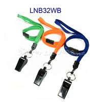 Breakaway Lanyards with split ring and whistle-LNB32WB