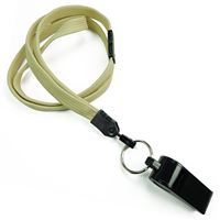 LNB32WBLGD Light Gold Light Gold Breakaway Lanyard