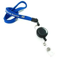 LNP03R1N personalized ID badge reel lanyards