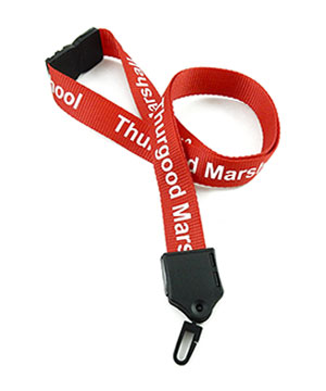 LNP0603B customized breakaway lanyard