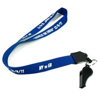 LNP0605N personalized whistle lanyards