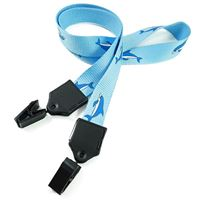 LNP06D2N custom double ended clip lanyards