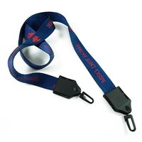 LNP06D3N custom double ended hook lanyards