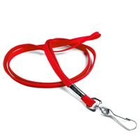 The single color economy swivel hook lanyard with a metal hook.