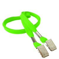 LRB324NLMG Lime Green Lanyards
