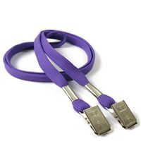 LRB324NPRP Purple Lanyards