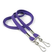 LRB325NPRP Purple Neck Lanyard