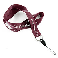 LRP0814N personalized phone lanyard