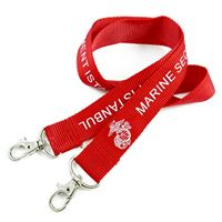 LRP08D6N personalized promotional lanyards