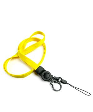 The single color cellphone key ring lanyard with cell phone keeper and keyring.
