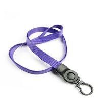 The single color keychain lanyard with a swivel keychain.