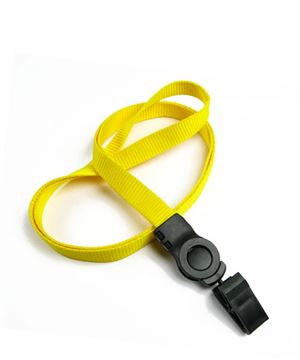 The single color badge clip lanyards with id clips.
