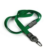 The single color swivel j hook breakaway lanyards with swivel hooks.